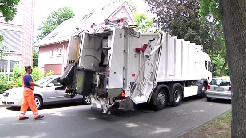 Müllwagen tötet junge Mutter (Foto: SAT.1 NRW)