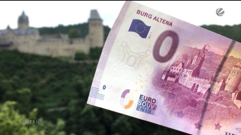 0-Euro-Schein (Foto: SAT.1 NRW)