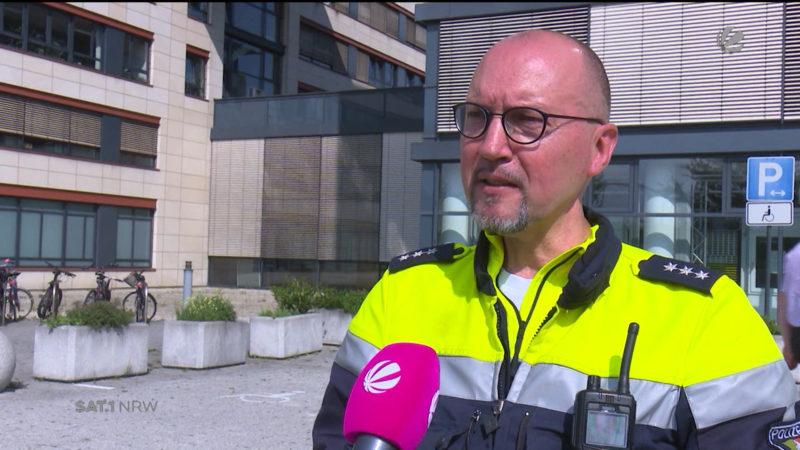 Krebskranker Polizist bewegt die Menschen mit weisen Worten (Foto: SAT.1 NRW)