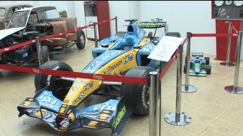 Formel 1: Ausstellung zu Michael Schumacher (Foto: SAT.1 NRW)