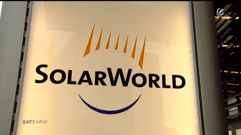 Solarworld verkauft (Foto: SAT.1 NRW)