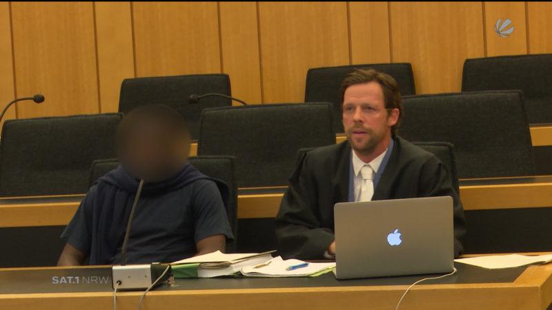 Prozess: Mord an Flüchtlingshelferin (Foto: SAT.1 NRW)