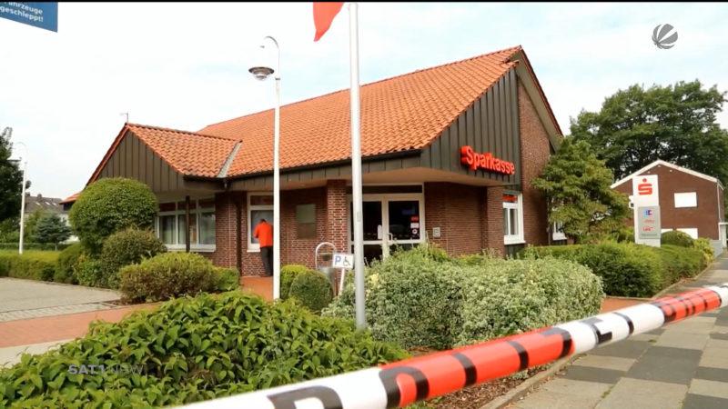Sparkasse in Herford überfallen (Foto: SAT.1 NRW)