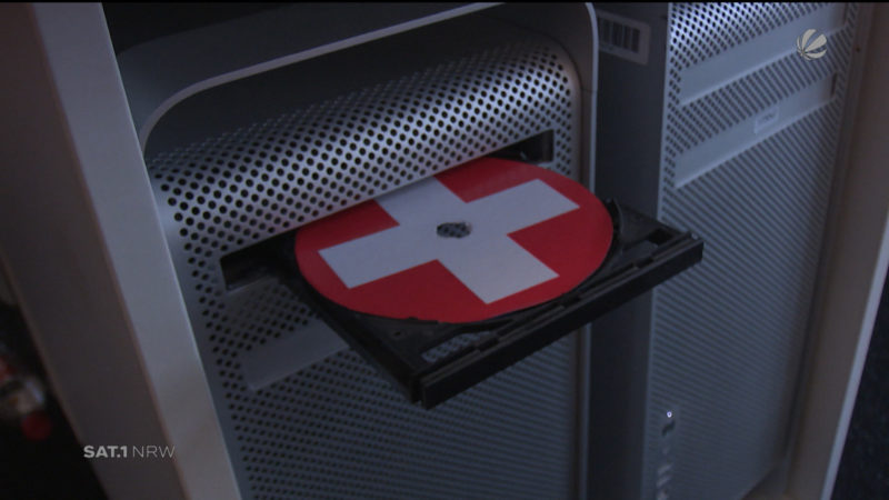 Anklage gegen mutmaßlichen Schweizer Spion (Foto: SAT.1 NRW)