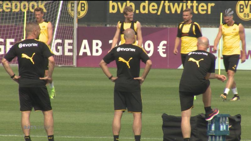 Supercup zwischen Bayern und Dortmund (Foto: SAT.1 NRW)