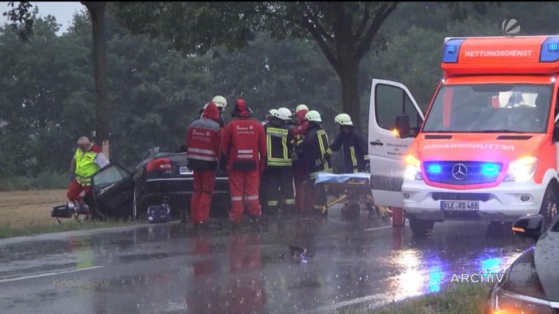 Weniger tödliche Unfälle in NRW (Foto: SAT.1 NRW)