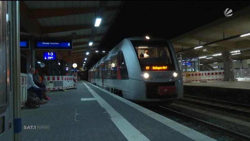 Bahn in Wuppertal fährt wieder (Foto: SAT.1 NRW)