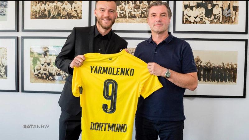 Yarmolenko ist Dembele-Nachfolger (Foto: SAT.1 NRW)