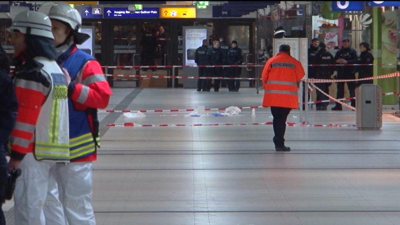 Düsseldorfer Axt-Attentäter muss dauerhaft in die Psychiatrie (Foto: SAT.1 NRW)