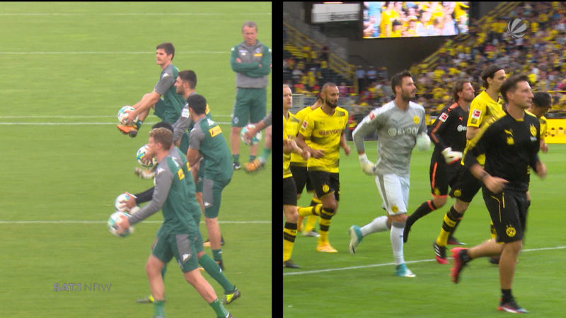 Mönchengladbach gegen BVB (Foto: SAT.1 NRW)