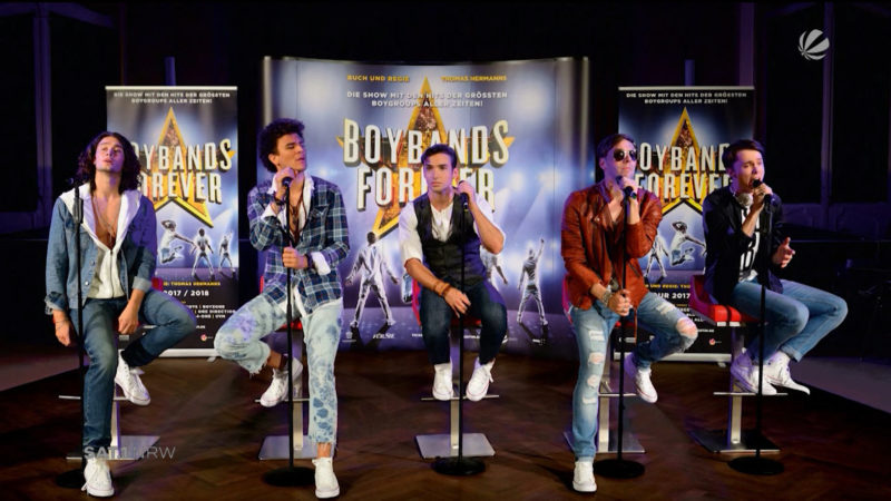 Musical in NRW: Boybands forever (Foto: SAT.1 NRW)