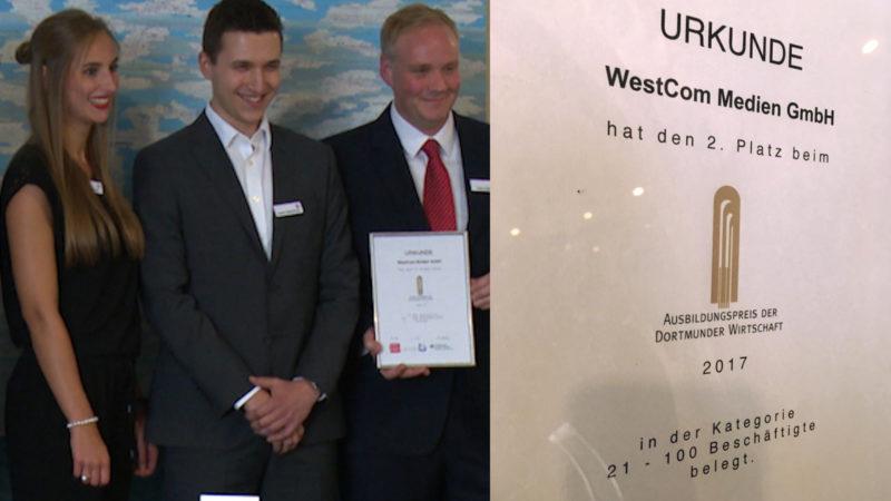 Ausbildungspreis: Silber für SAT.1 NRW (Foto: SAT.1 NRW)