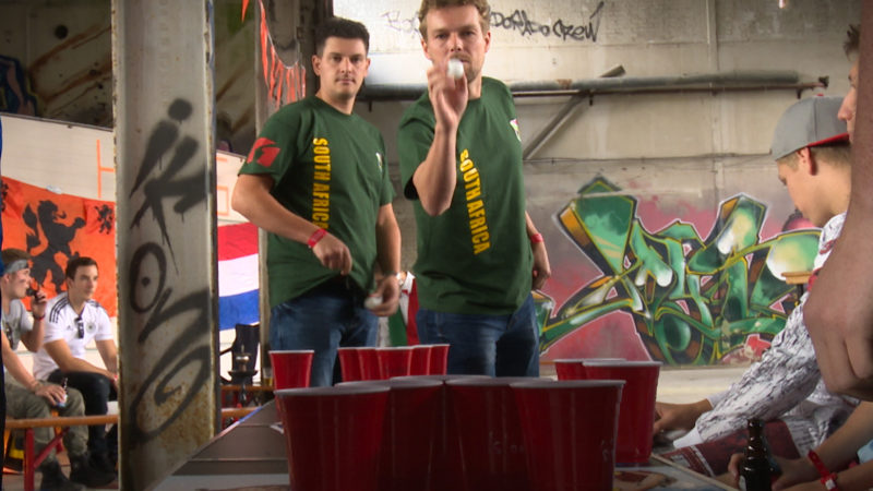 Beer-Pong-WM (Foto: SAT.1 NRW)
