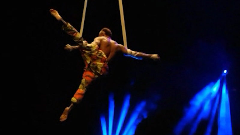 Afrikanischer Zirkus (Foto: SAT.1 NRW)