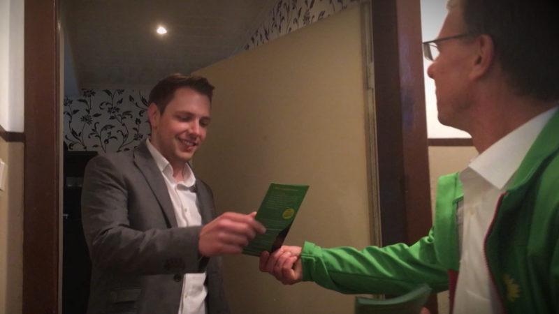 Wahlkampf auf Hochtouren (Foto: SAT.1 NRW)
