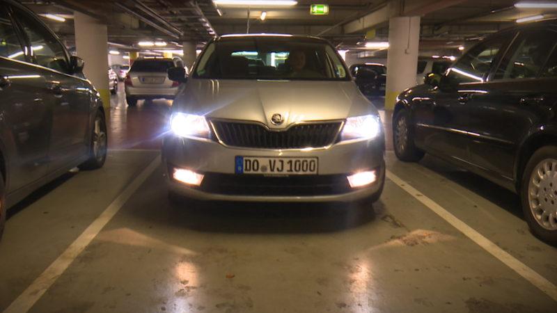 Endgegner: Parklücke (Foto: SAT.1 NRW)