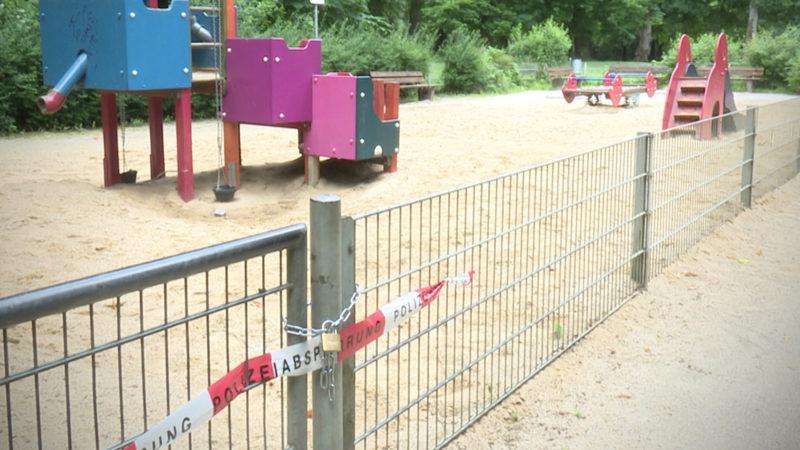Gefahr auf Spielplatz (Foto: SAT.1 NRW)