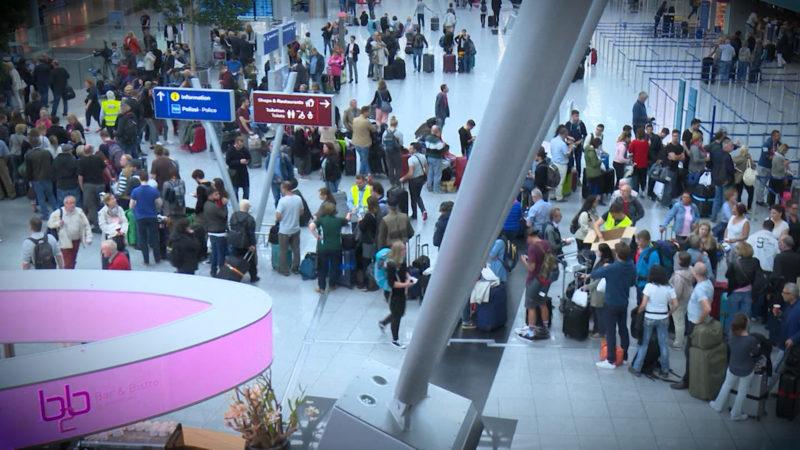 Streik bei Airberlin (Foto: SAT.1 NRW)