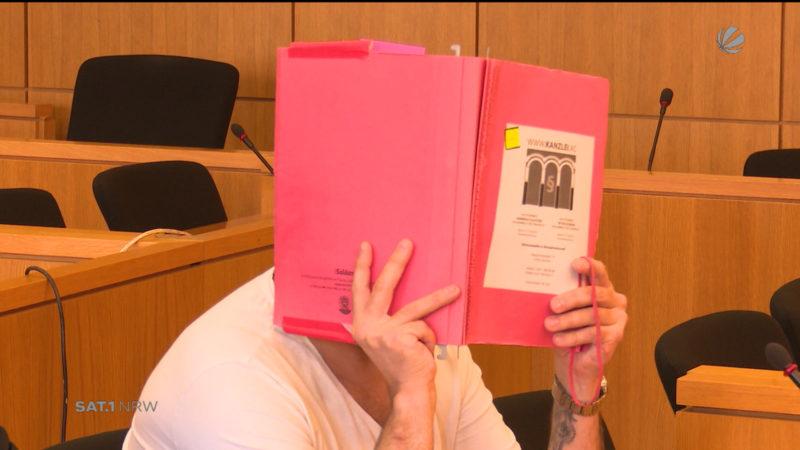 Urteil im Fall des Eltern-Erpressers aus Aachen (Foto: SAT.1 NRW)
