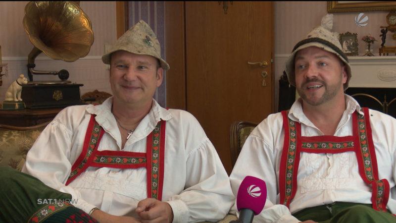 Hit im Internet: Hallöchen aus Ergste (Foto: SAT.1 NRW)