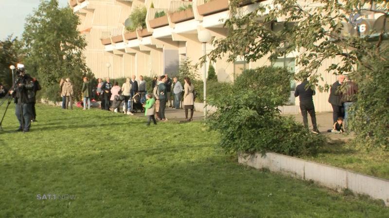 Evakuierung: Stadt räumt Hannibal-Hochhaus in Dortmund (Foto: SAT.1 NRW)
