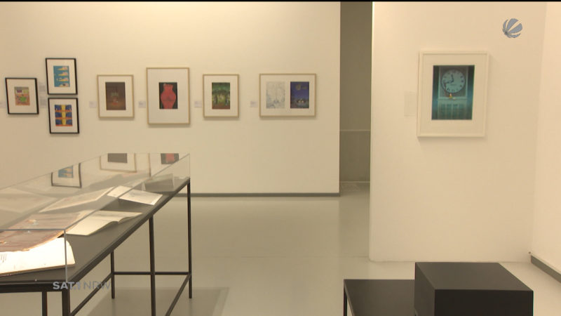 Mordillo-Ausstellung in Oberhausen (Foto: SAT.1 NRW)