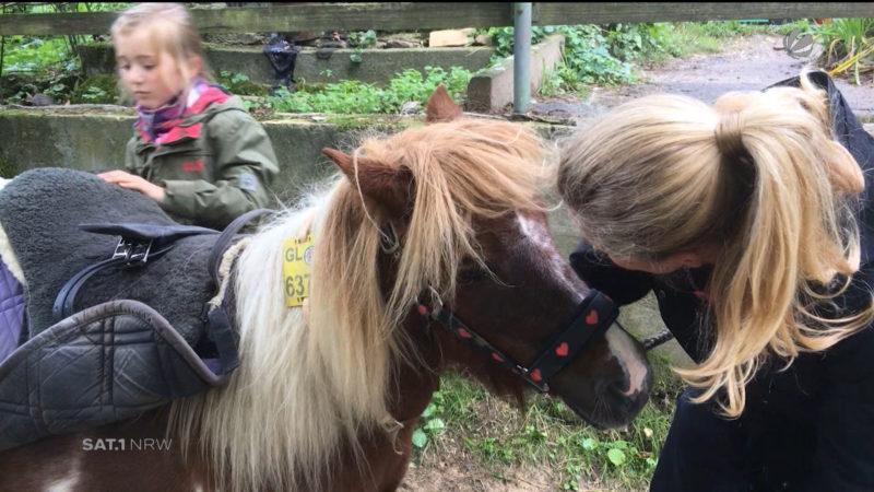 Rettung eines Ponyhofes (Foto: SAT.1 NRW)