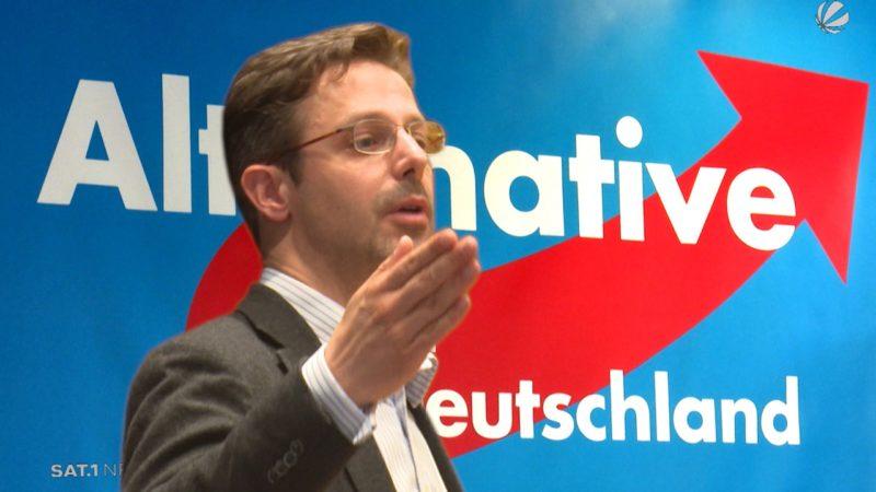 Exklusiv: Marcus Pretzell zu seinem AFD-Austritt (Foto: SAT.1 NRW)