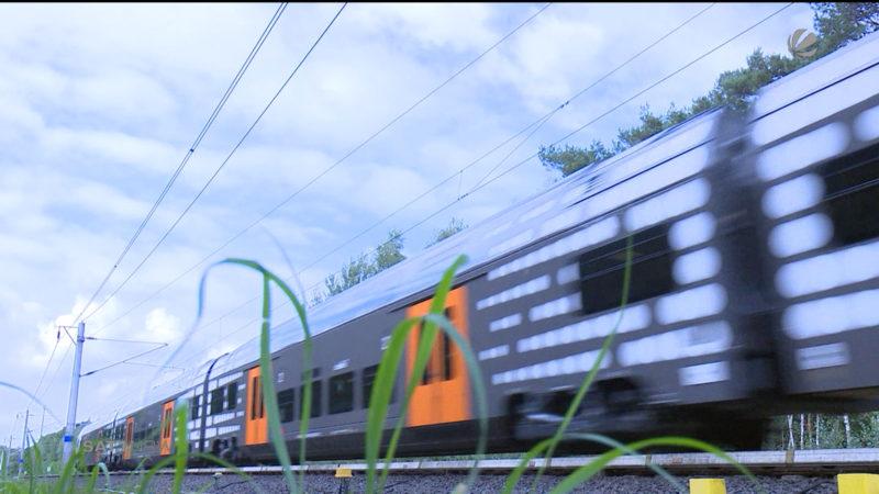Testfahrt mit dem Rhein-Ruhr-Express (Foto: SAT.1 NRW)