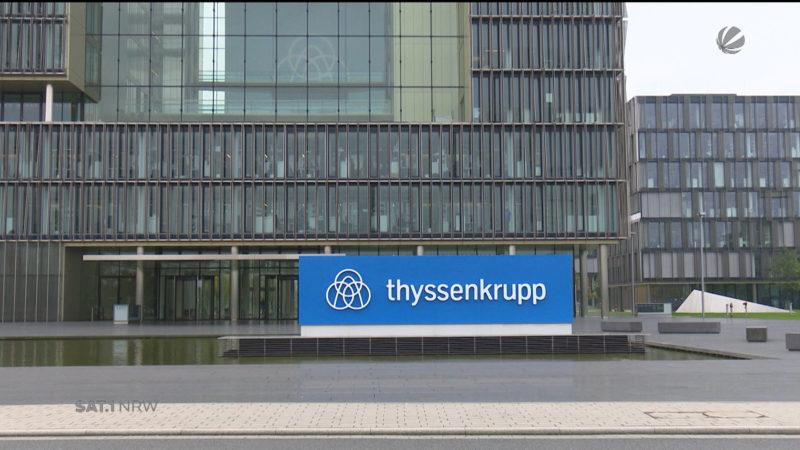 Thyssenkrupp schmeißt  Chef raus (Foto: SAT.1 NRW)