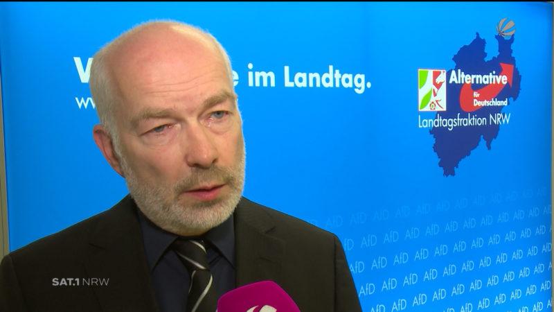 AfD in NRW vor ungewisser Zukunft (Foto: SAT.1 NRW)