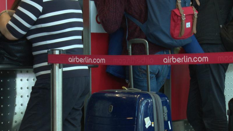 Was passiert jetzt mit den Air-Berlin-Tickets? (Foto: SAT.1 NRW)
