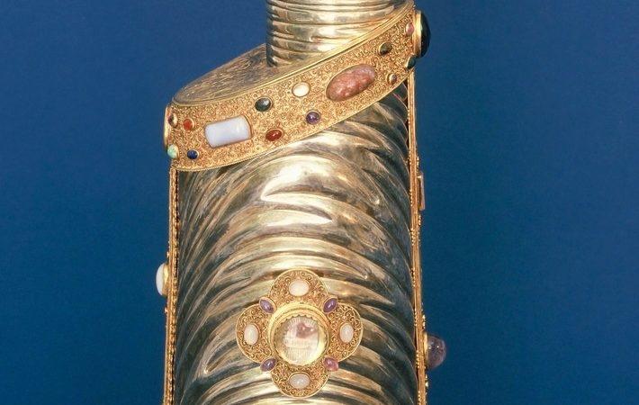 Diebstahl eines Armreliquiars Reliquie des Heiligen Petrus Canisius (Foto: SAT.1 NRW)