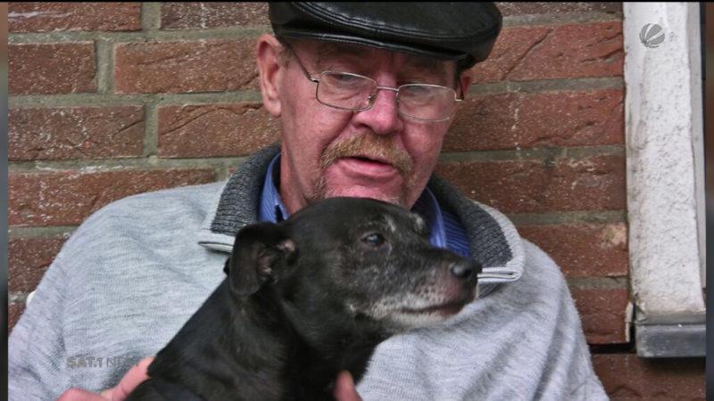 Defekter Aufzug: Hund fällt in Auzugschacht (Foto: SAT.1 NRW)