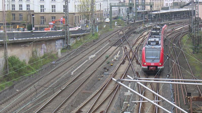 Bahnsperrung zwischen Dortmund und Hamm (Foto: SAT.1 NRW)