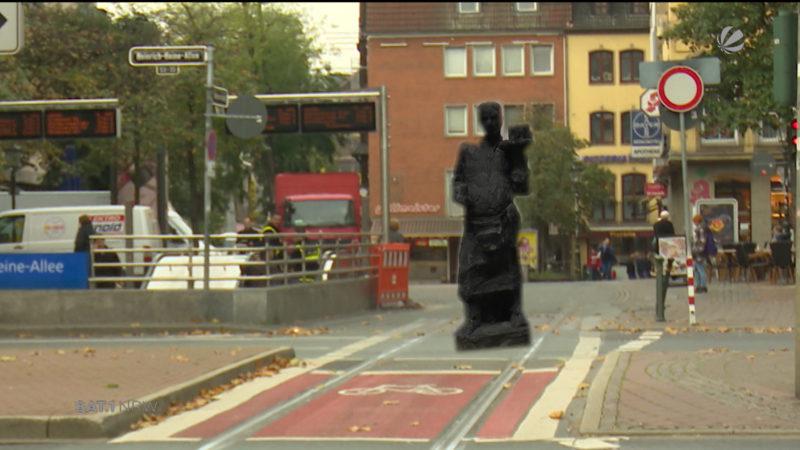 Denkmäler zur Terror-Abwehr (Foto: SAT.1 NRW)