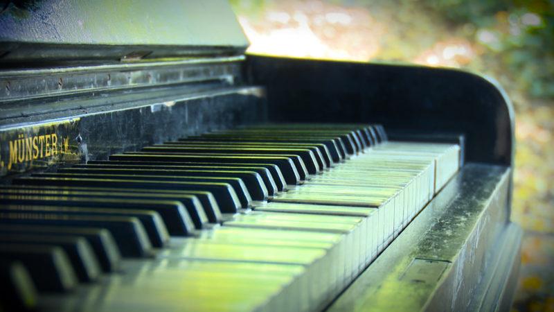 Kurioses Klavier (Foto: SAT.1 NRW)