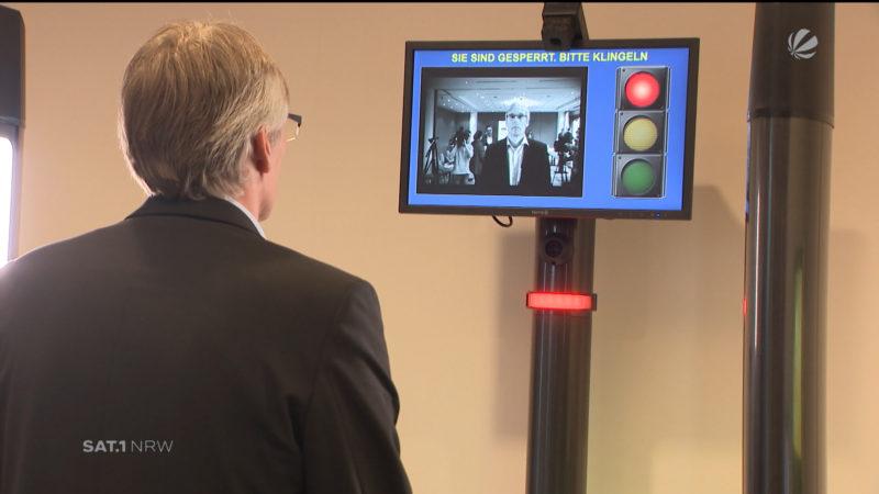 Gesichtsscanner für Spielhallen (Foto: SAT.1 NRW)