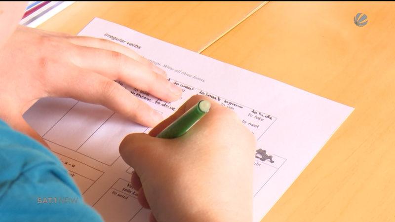 Grundschüler in NRW sind in Lesen und Mathe unterdurchschnittlich (Foto: SAT.1 NRW)