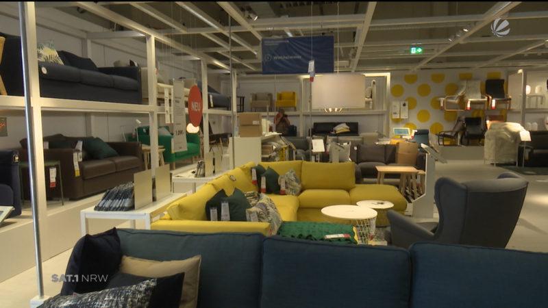 Nachhaltig gebautes Möbelhaus (Foto: SAT.1 NRW)