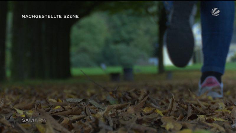 Bottrop: Brutaler Überfall auf eine Joggerin (Foto: SAT.1 NRW)