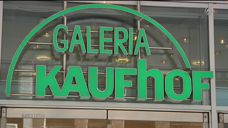 Kaufhof will Gehälter kürzen (Foto: SAT.1 NRW)
