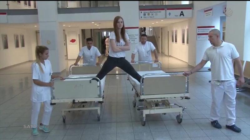 Klinikum Dortmund landet Internet-Hit (Foto: SAT.1 NRW)