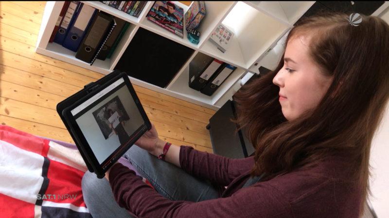 Paderbornerin überzeugt Linkin Park mit eigenem Video (Foto: SAT.1 NRW)