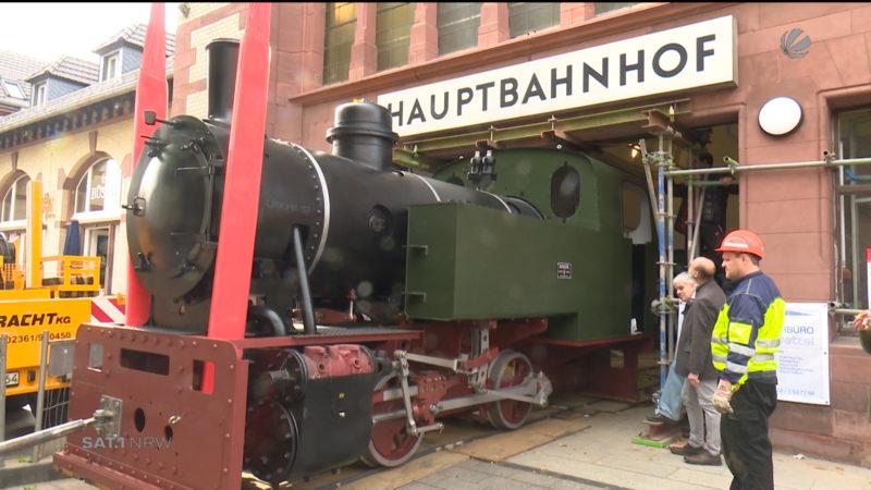 Neue Sensation am Wittener Bahnhof (Foto: SAT.1 NRW)