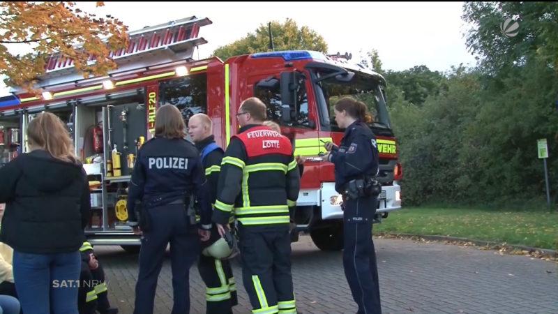 Lotte: Leichtsinnige Mutprobe nimmt schlimmes Ende (Foto: SAT.1 NRW)