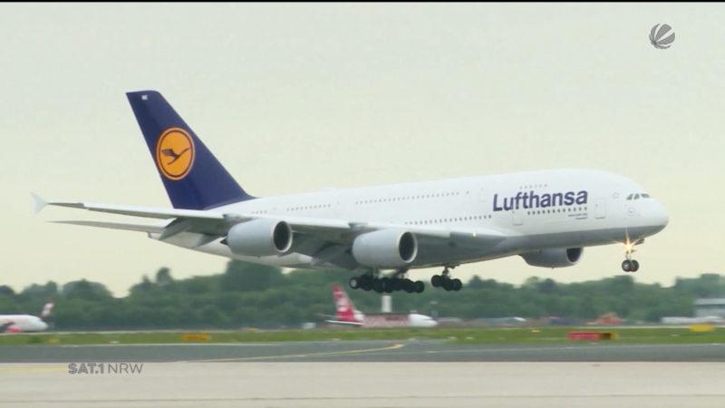 Lufthansa übernimmt große Teile von Air Berlin (Foto: SAT.1 NRW)