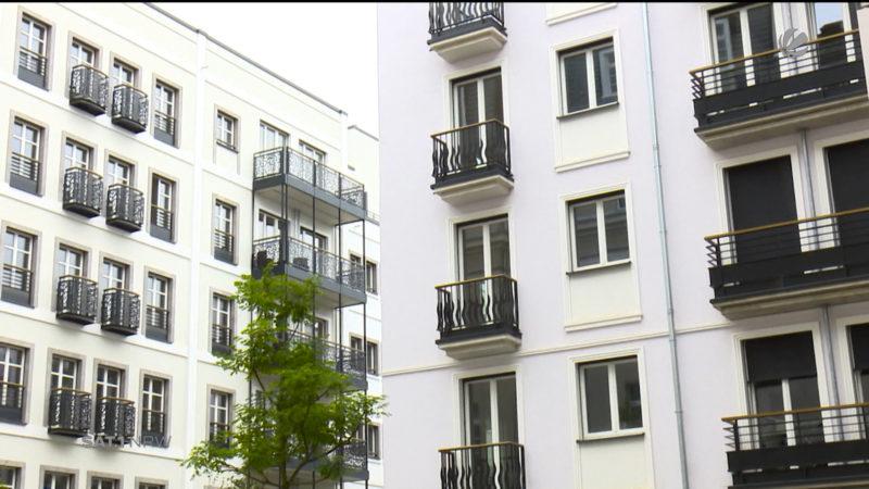 Düsseldorf: Neues Luxus-Viertel eröffnet (Foto: SAT.1 NRW)