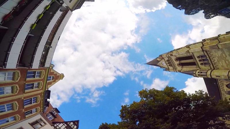 Münster von unten (Foto: SAT.1 NRW)