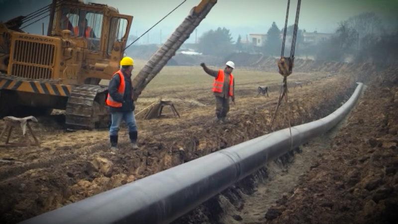 Neue Gas-Pipeline (Foto: SAT.1 NRW)